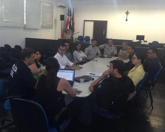 """AUTORIDADES """"FORÇAS ALIADAS ELEITORAIS""""  REUNIDAS PREOCUPADAS COM FILADÉLFIA"""