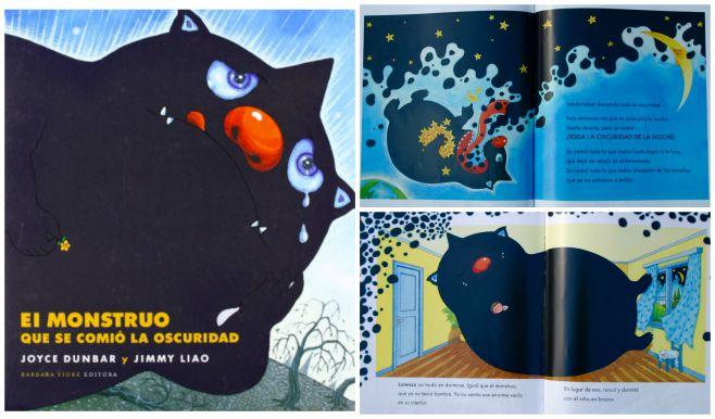 libro infantil superar miedo oscuridad: el mosntruo que se comió la oscuridad