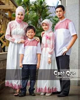 baju seragam keluarga untuk lebaran 2018