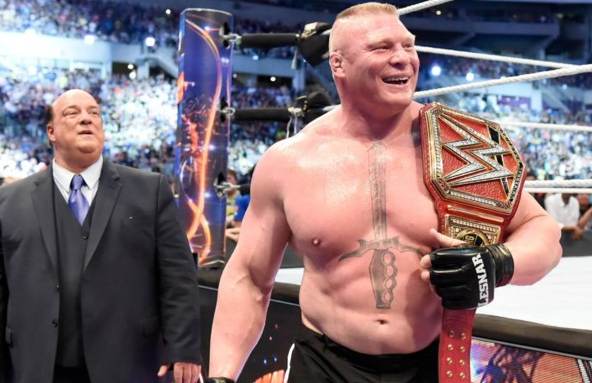 Brock Lesnar Won Universal Championship