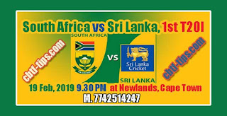 1st T20 Match Prediction Tips by Experts LANKA vs Africa
