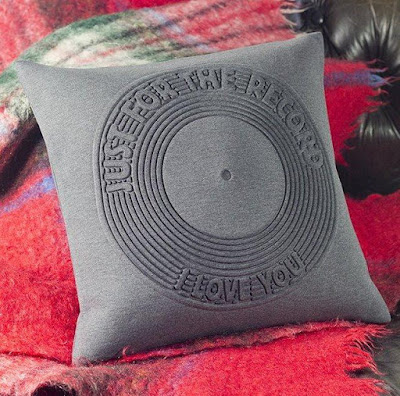 Record Cushion Cover