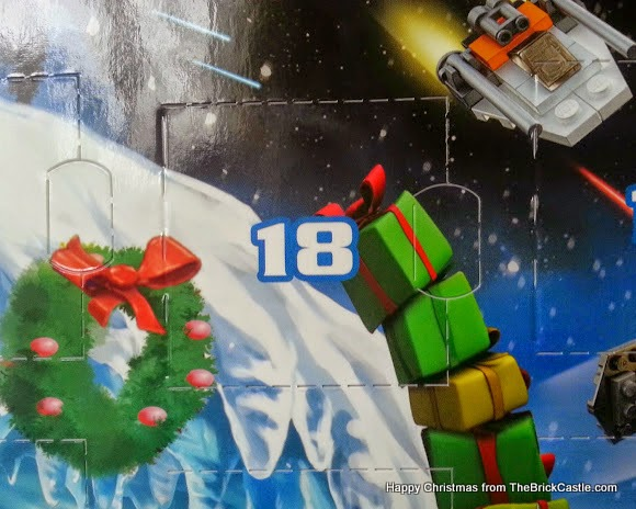 The LEGO Star Wars Advent Calendar Dec 18 window