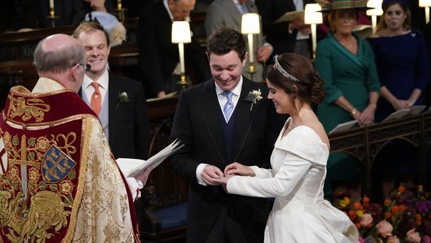 Princess Eugenie Wedding: Here's A First Look At Princess Eugenie's Wedding Dress