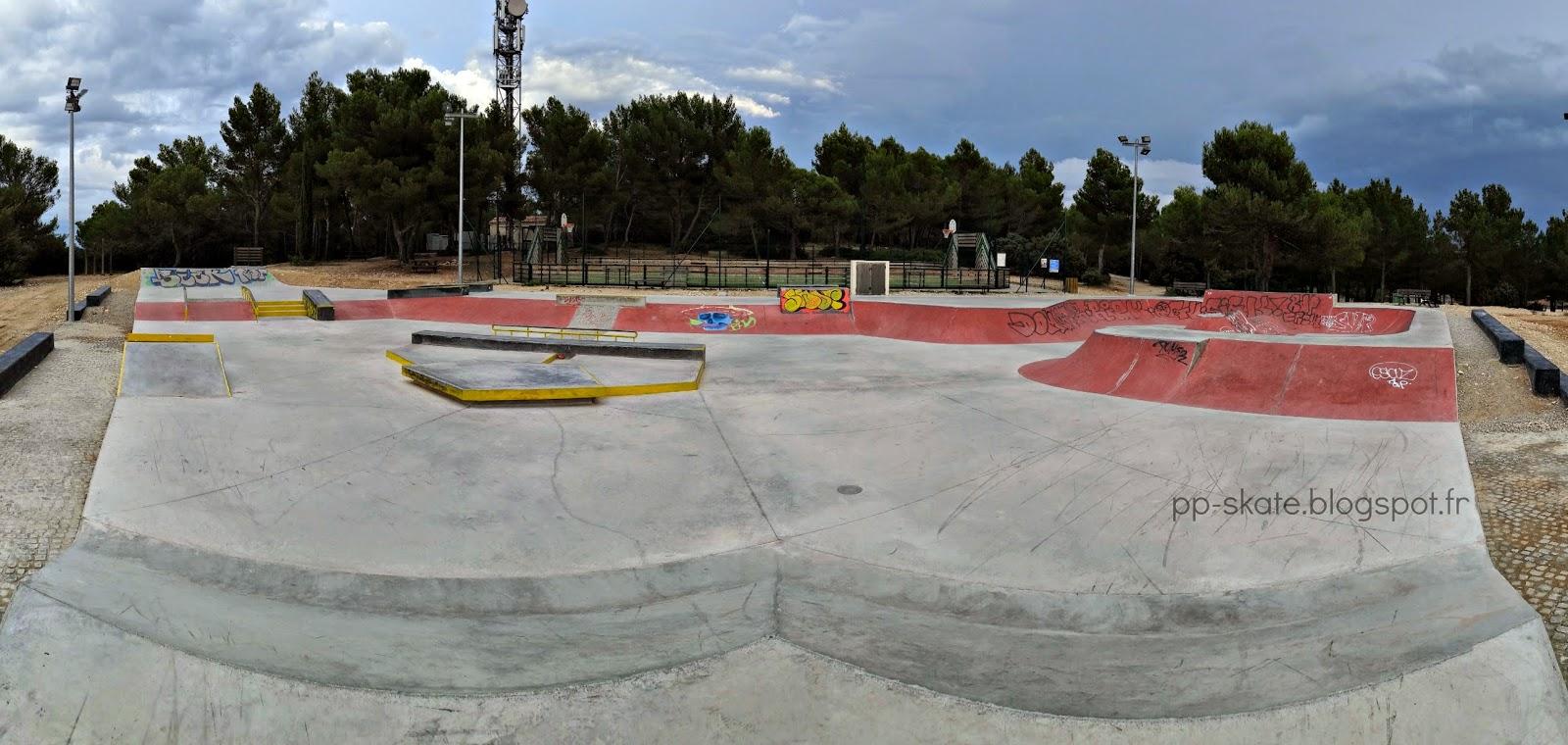 Skatepark Venelles panoramique