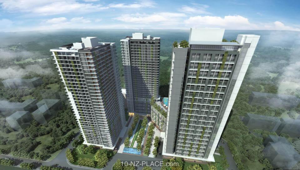 10 NZ Place Alam Sutera Apartment