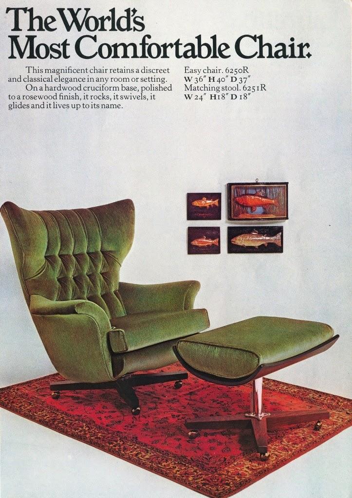d o m : m i d - m o d: World's most comfortable chair?
