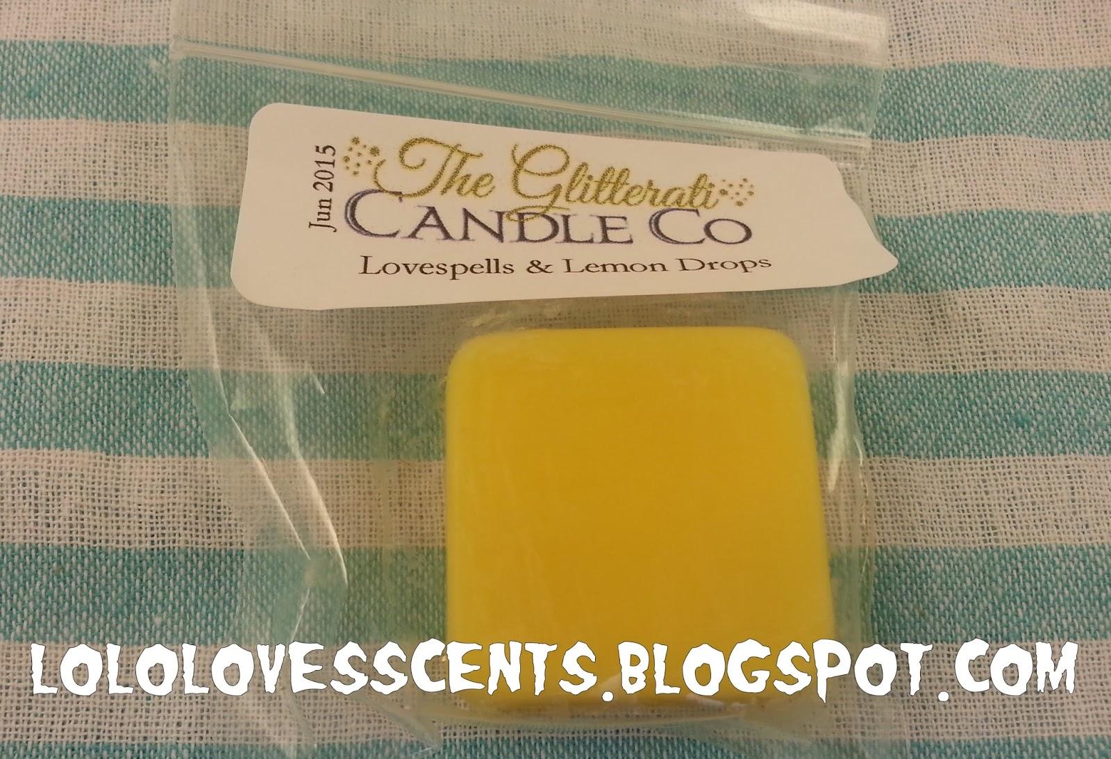 Lolo Loves Scents: Haul: Glitterati Candle Company Custom