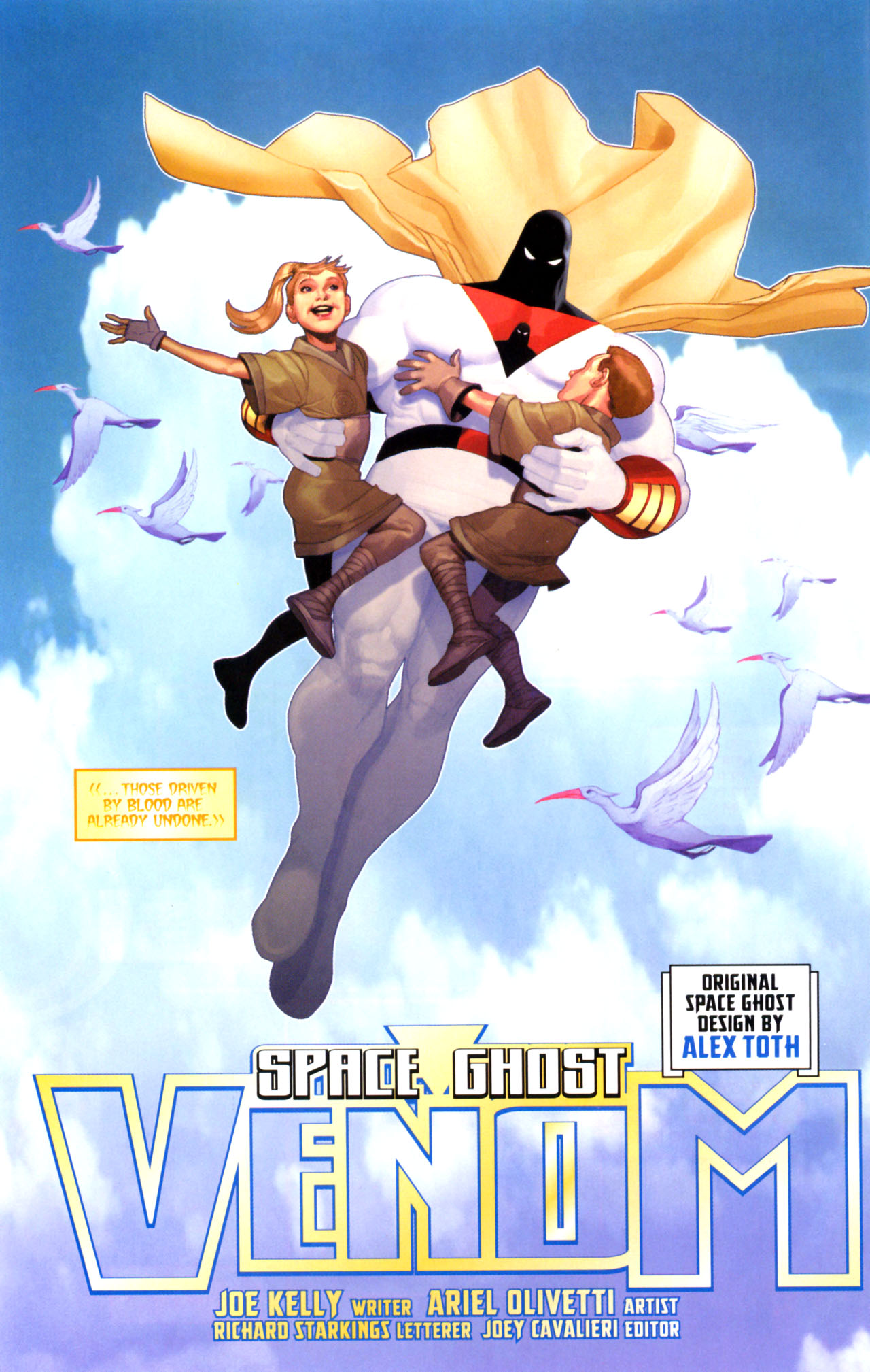 Read online Space Ghost (2005) comic -  Issue #5 - 3