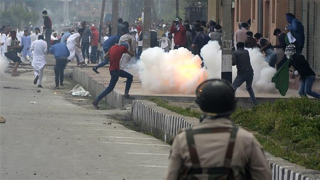 Indian security forces, protesters clash after Eid prayers in Kashmir