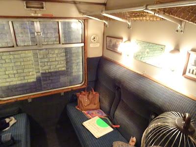 Compartimento del Hogwarts Express