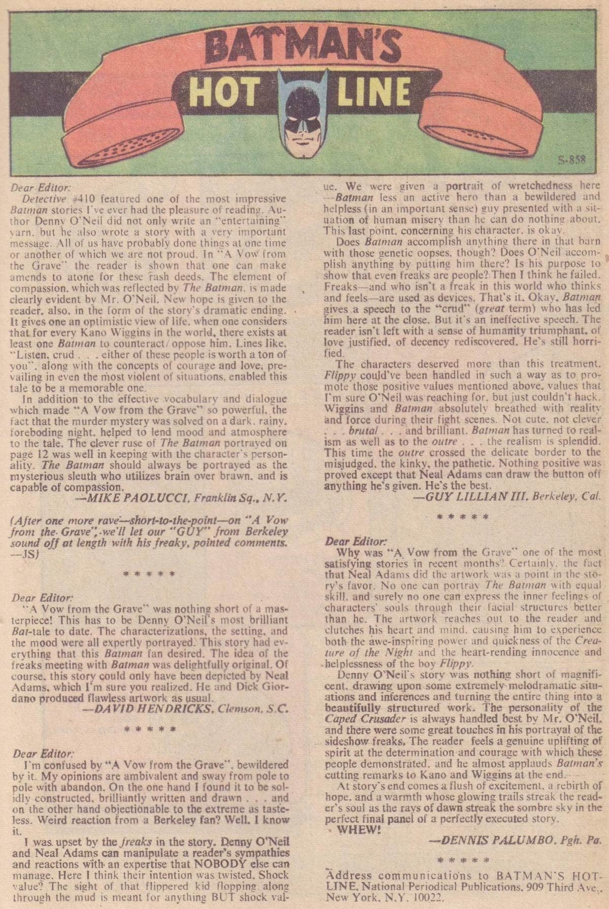 Detective Comics (1937) 414 Page 18