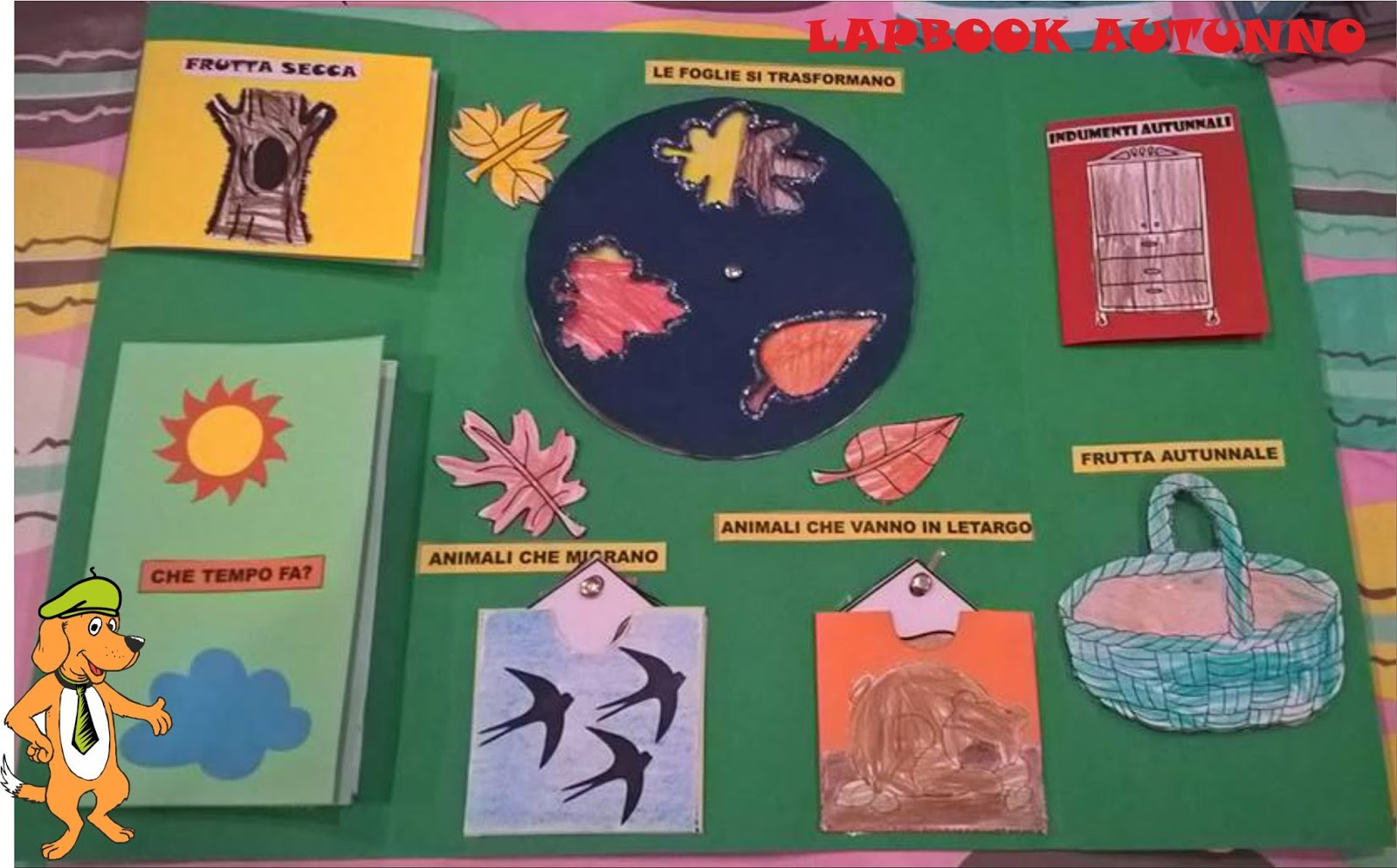 lapbook autunno da