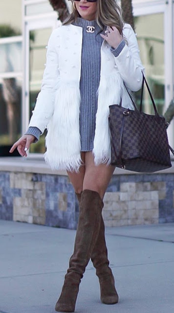 Cute Women Casual Outfit To Wear Fall and Winter