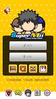 SuperMii - Make Comic Sticker Apk | aqilsoft