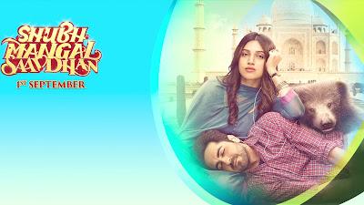 Shubh Mangal Saavdhan Movie Poster Image
