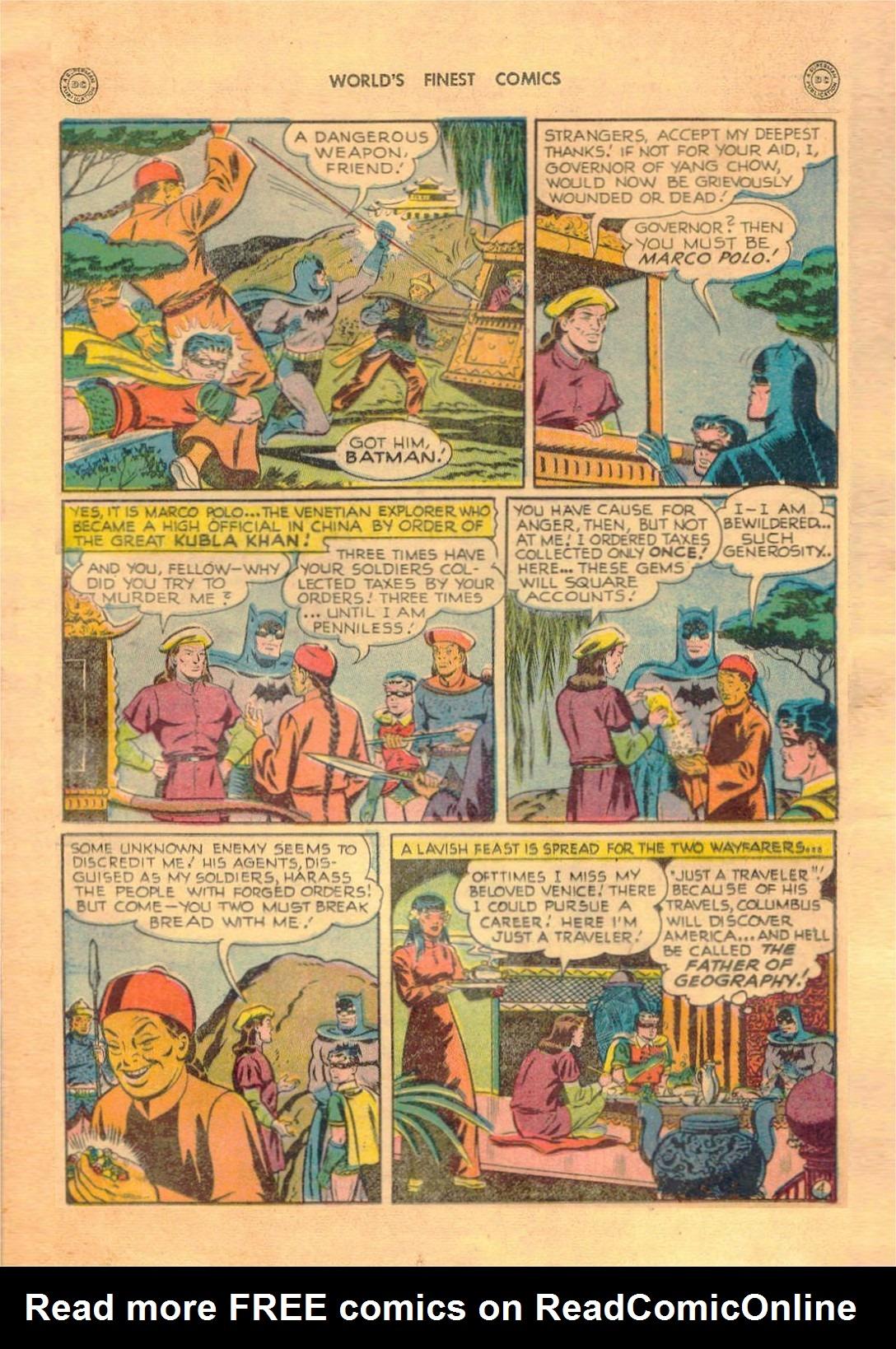 Read online World's Finest Comics comic -  Issue #42 - 65