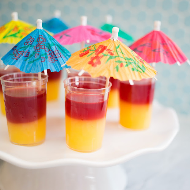 T Tequila Sunrise Jello Shots