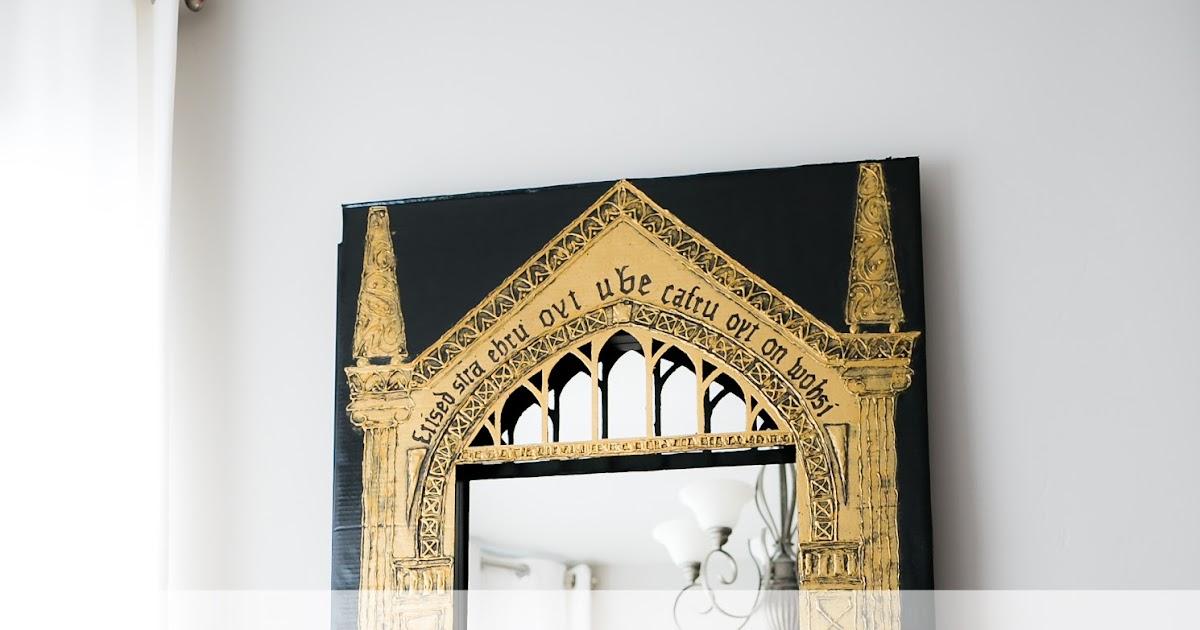 "Mirror Of Erised Ii By Barbora TŐgel: Delicious Reads: DIY Harry Potter Cardboard ""Mirror Of"