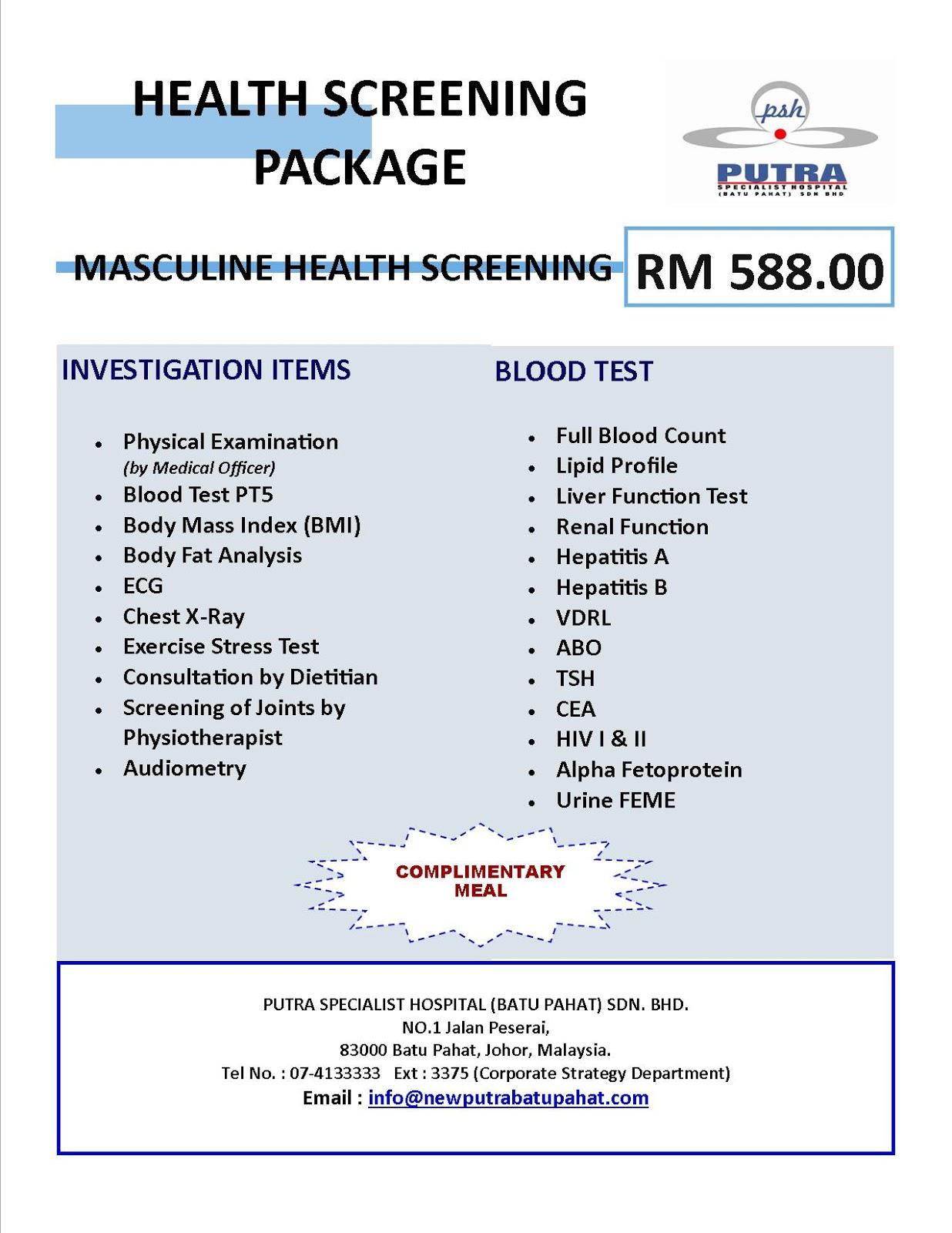 Executive Package Johor Medisav