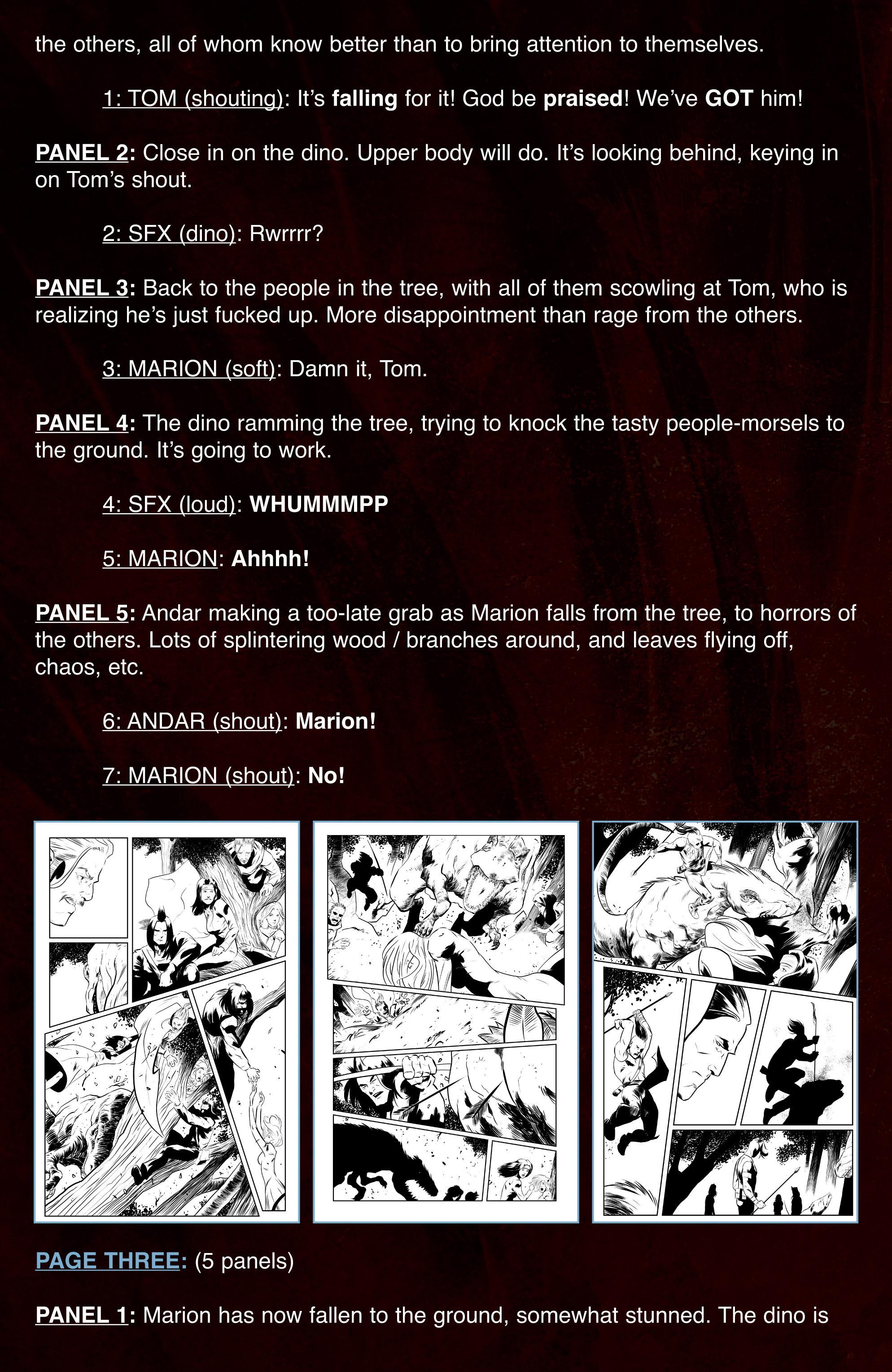 Read online Turok: Dinosaur Hunter (2014) comic -  Issue # _TPB 3 - 93