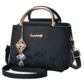 Exquisite Pendant Embossing Women Handbag