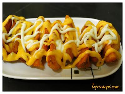 Resepi Cheesy Wedges Ala KFC Yang Simple