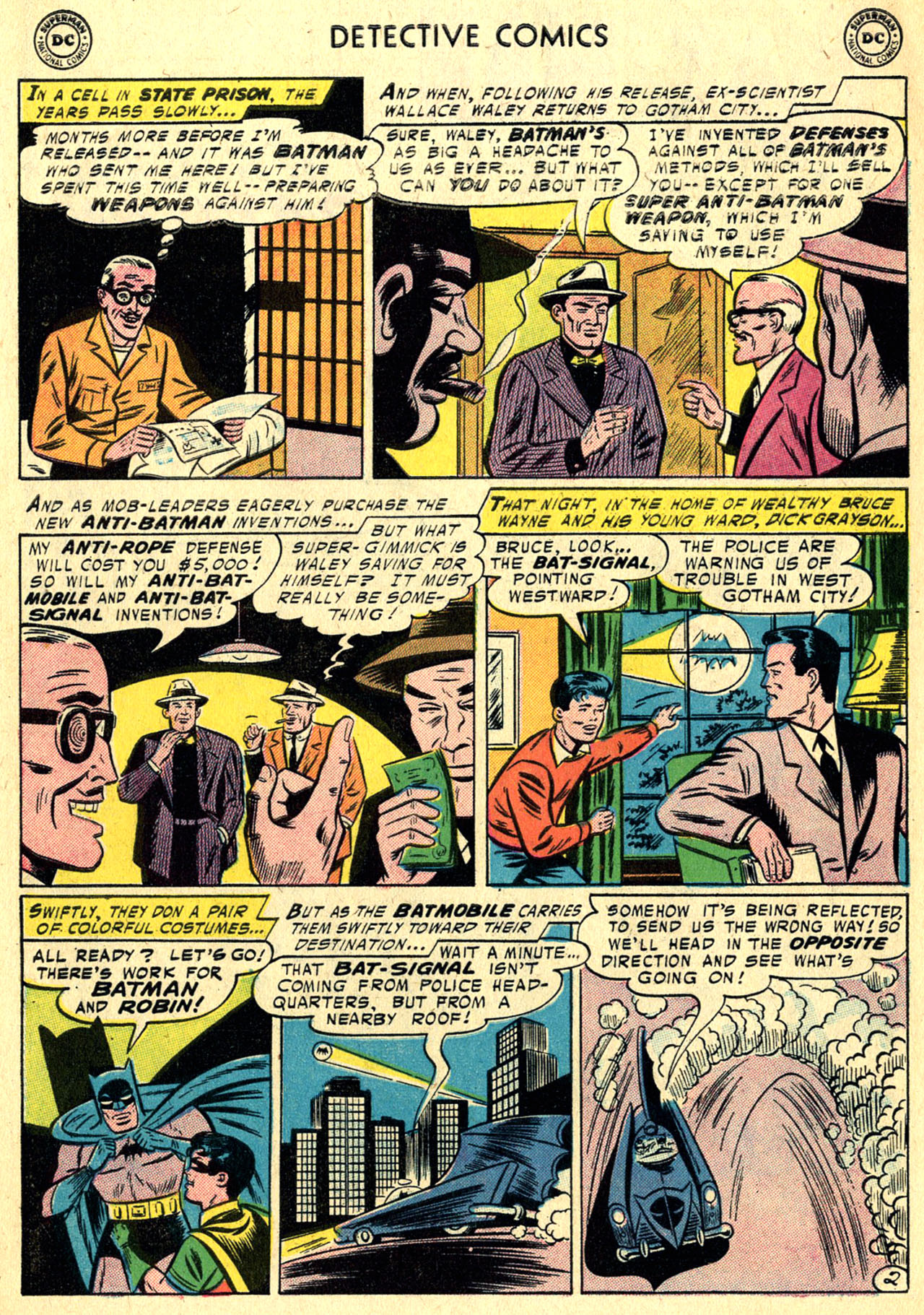 Read online Detective Comics (1937) comic -  Issue #236 - 4