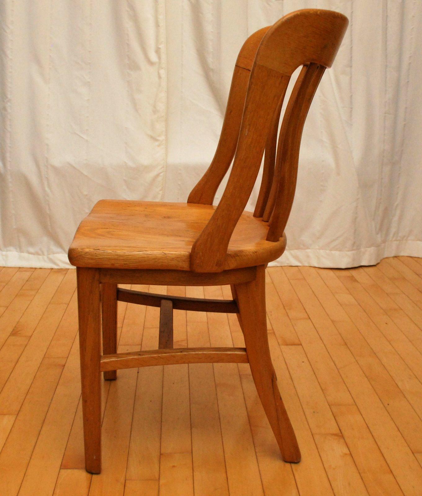 1940 S Oak Office Chairs