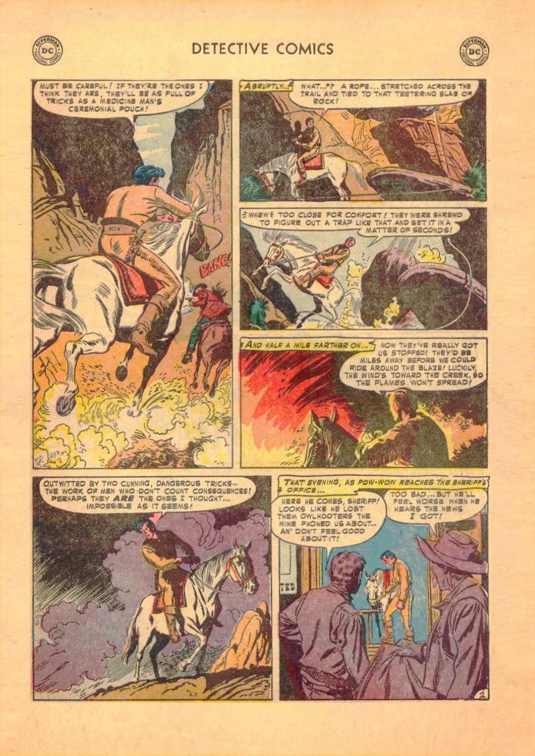 Read online Detective Comics (1937) comic -  Issue #182 - 34