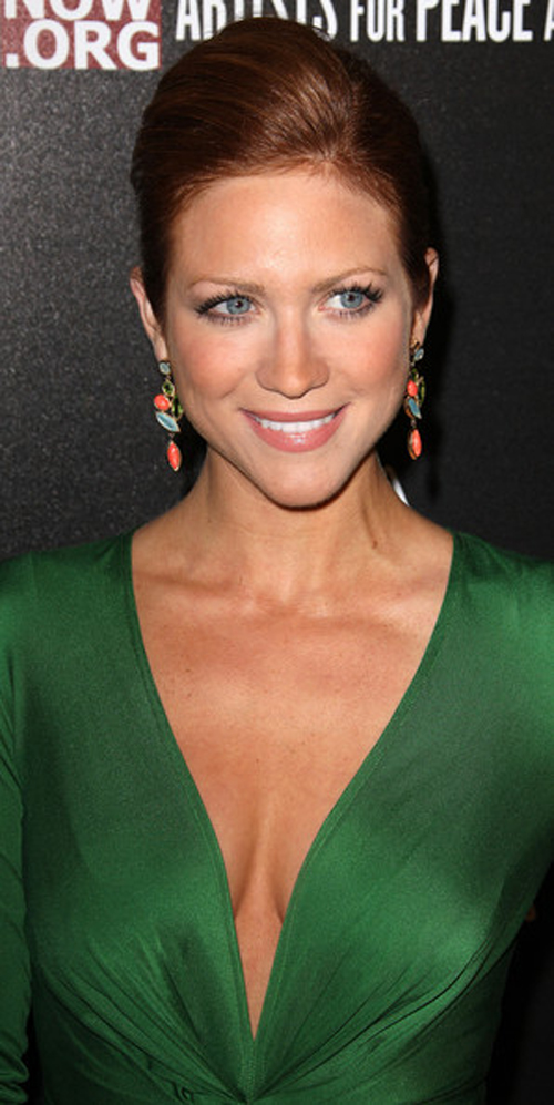Brittany Snow Hairstyle 2013 Celebrity Lifestyle Fashion