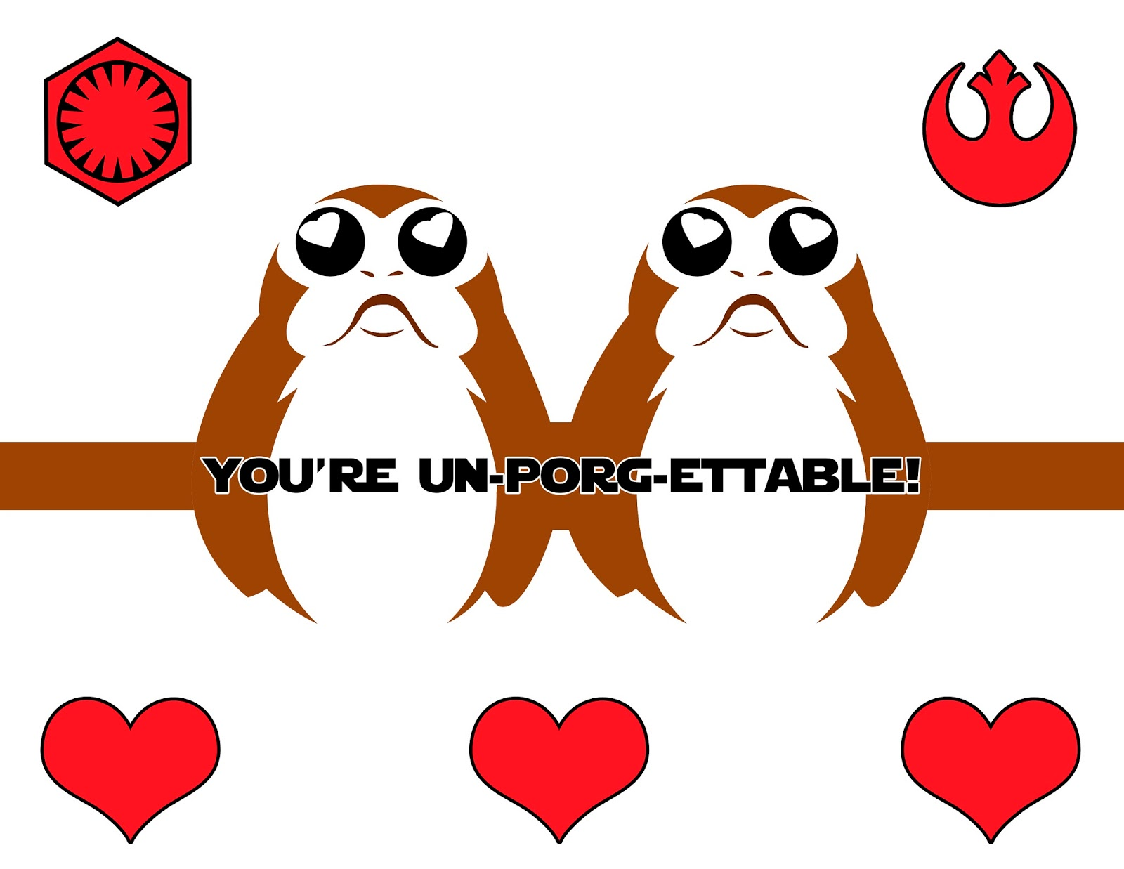 Porg Pop Up Valentine S Day Cards The Star Wars Mom Parties