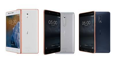 Nokia 3, Nokia 5 and Nokia 6 launched in Kuwait