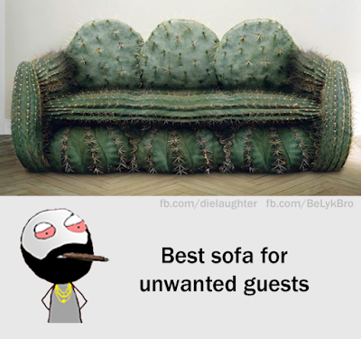 Best sofa for unwanted guests