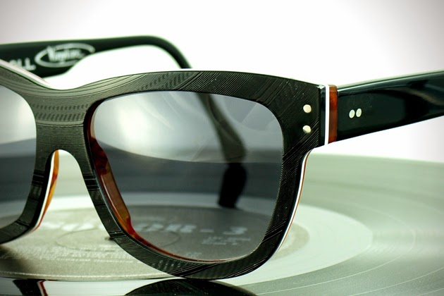 e277f2c4c3f1 Vinyl records recycled into exquisite eyewear  Vinlyize
