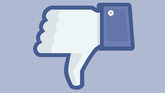 الفيسبوك سوف يضع زر لا يعجبنى على المنشورات العامه والخاصة