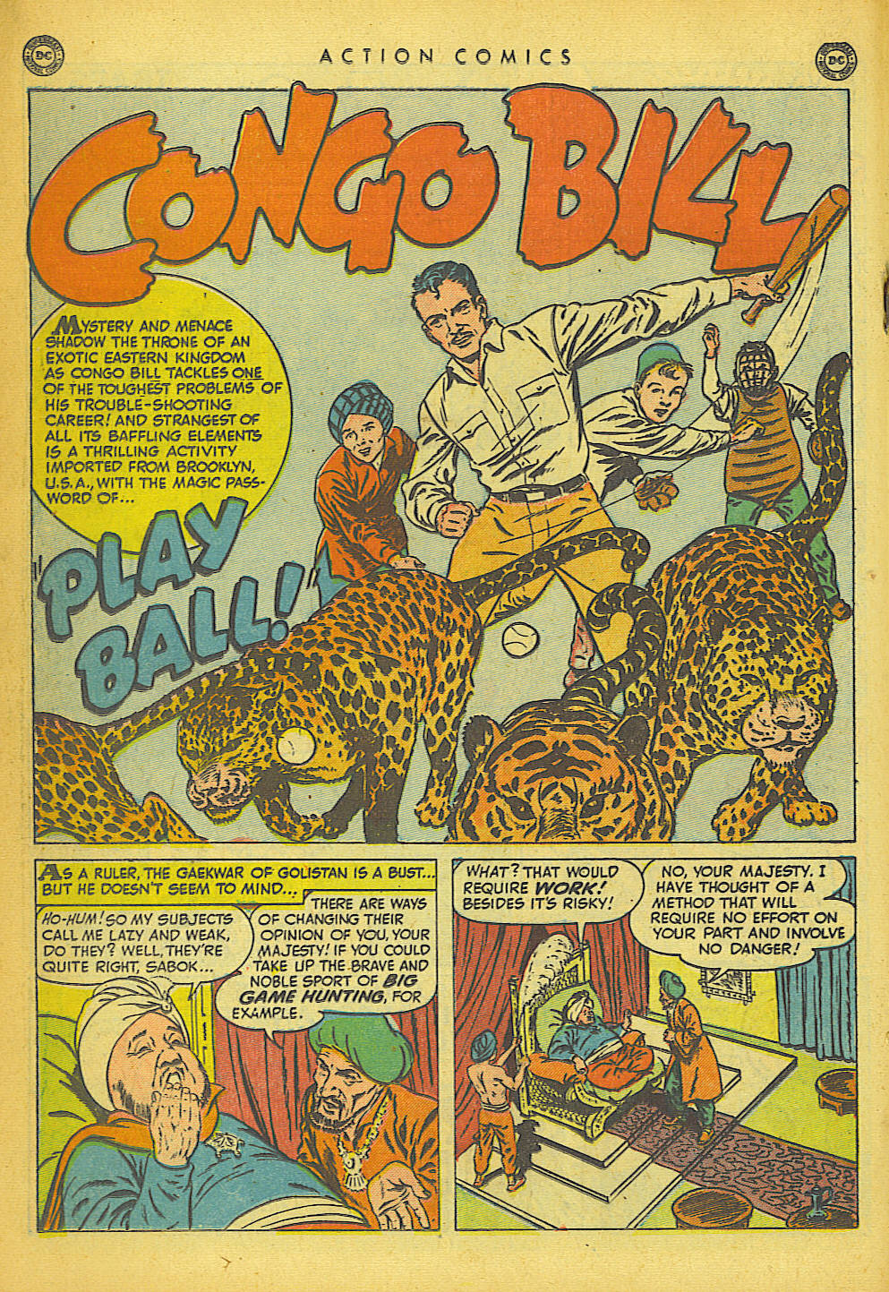 Read online Action Comics (1938) comic -  Issue #149 - 22