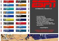 Nba 2k19 Espn Scoreboard Color Logo V1 1 By Looyh Nba 2k Mods
