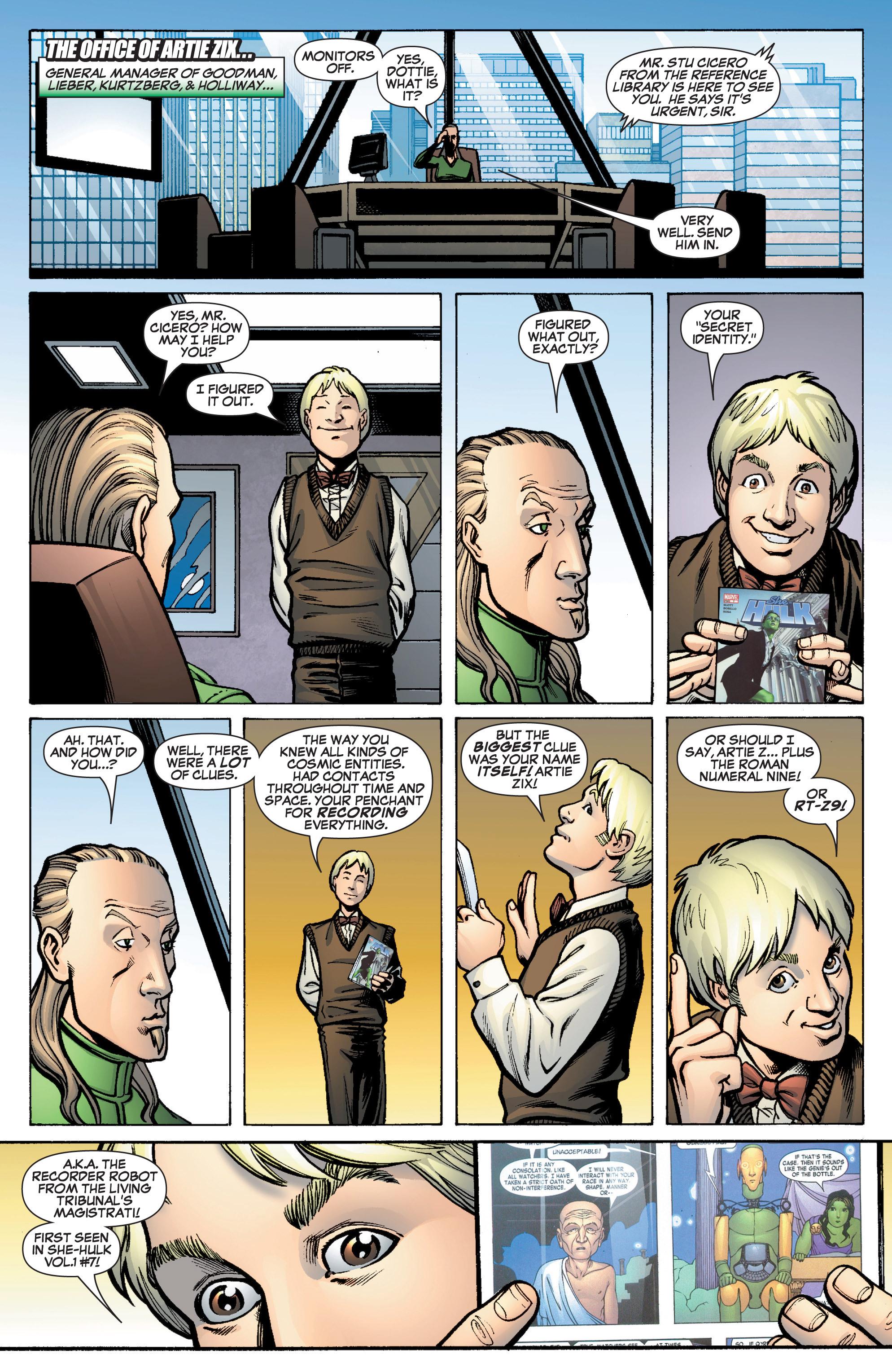 Read online She-Hulk (2005) comic -  Issue #10 - 22