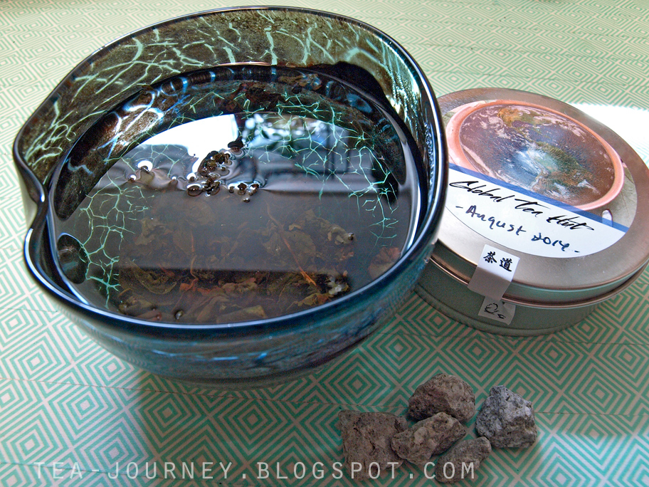 digital table global tea hut august 2014 kingfisher Jade tsui yu taiwan medicine stones china