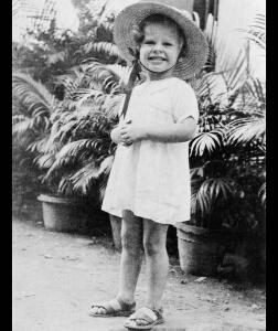 Julie Christie as child