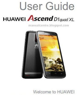 HUAWEI Ascend D1 quad XL Manual Cover