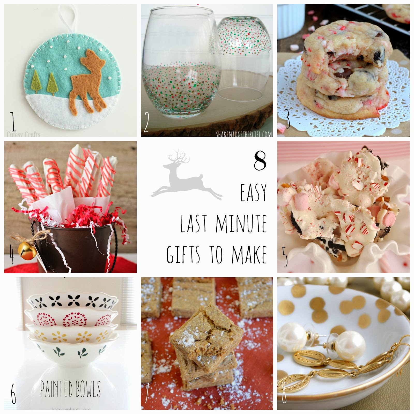 Last Minute Gifts For Mom Christmas 5 Last Minute DIY Christmas ...