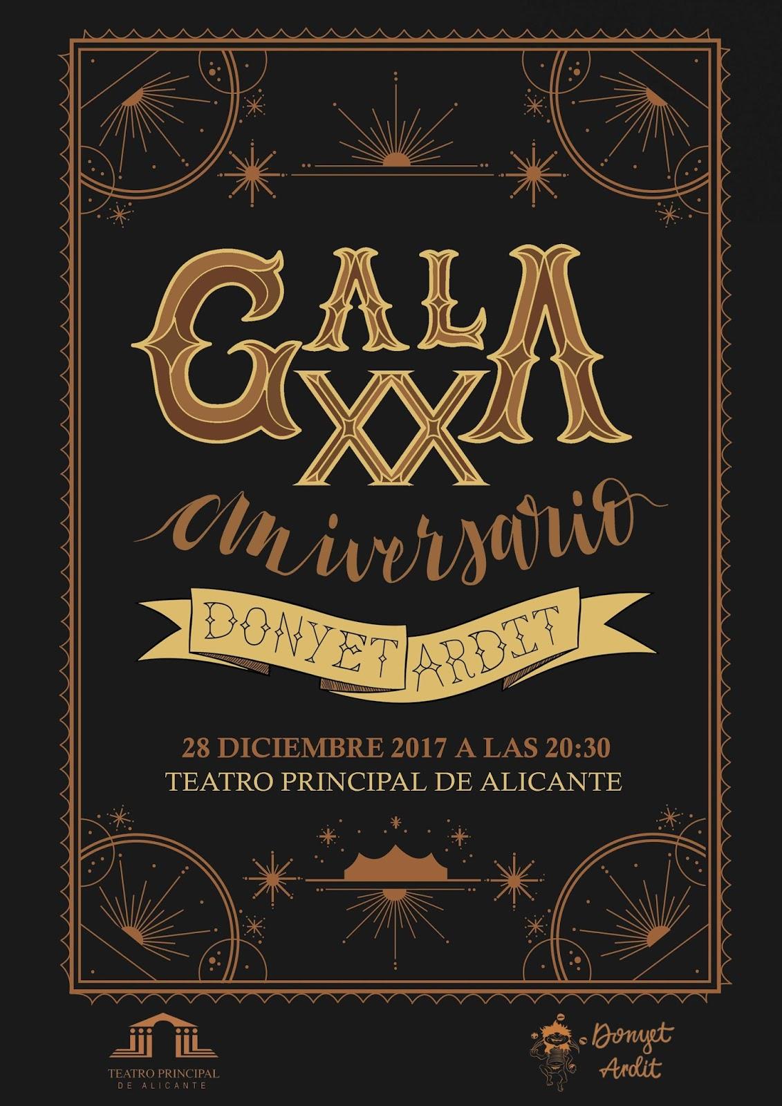 Gala XX Aniversario Donyet Ardit