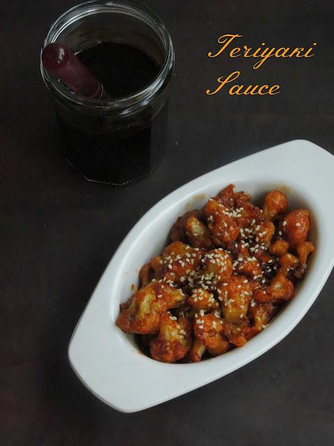 Teriyaki sauce, Homemade teriyaki sauce