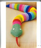 Serpent au tricot