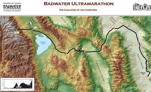 Covering 135 miles (217km) non-stop from Death Valley to Mt. Whitney, CA, the Nutrimatix Badwater® 135 is the most demanding and extreme running race ...