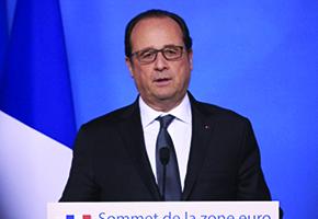Hollande promete destruir 'exército de fanáticos' do Estado Islâmico