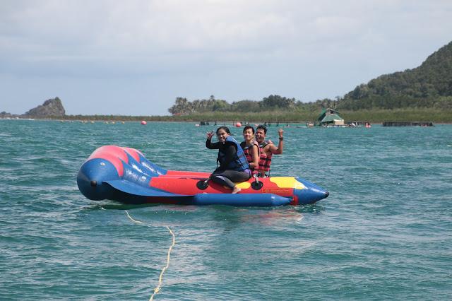 water sports baler