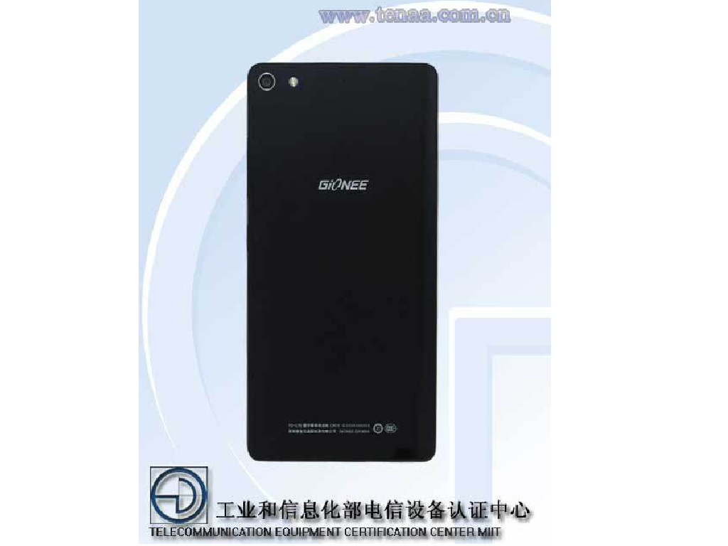 Gionee Elife S7 Visits TENAA: 5.2-inch, 5.5mm, MT6752